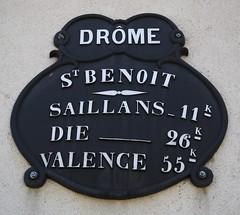 Saint-Benoit-en-Diois, Drome