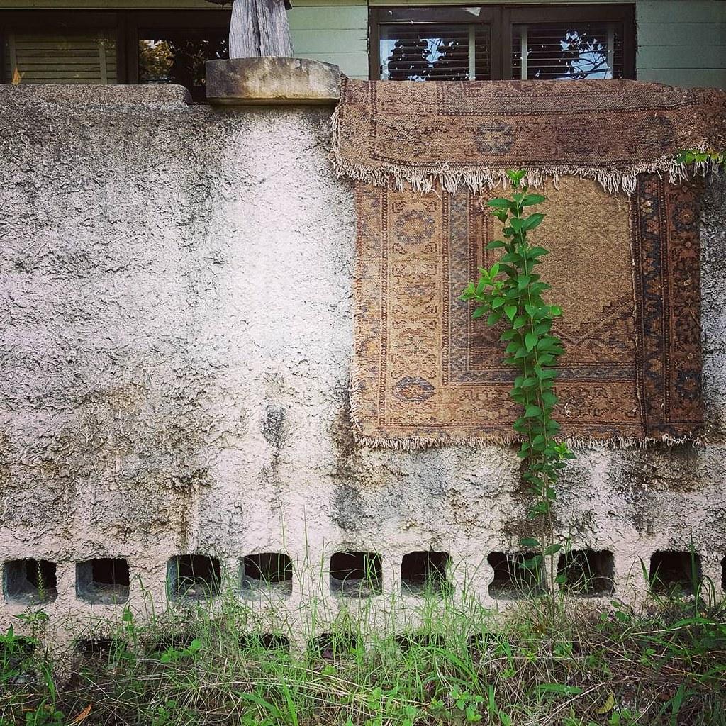 Rug wall