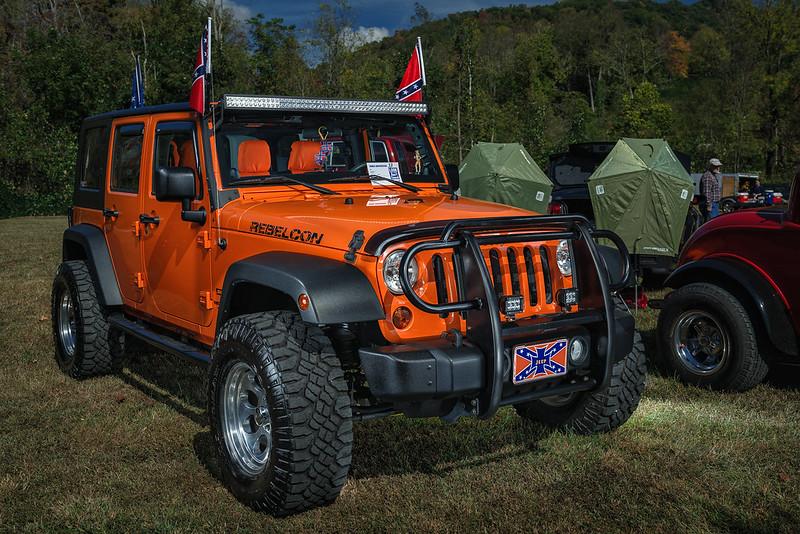 2012 Jeep Rebelcon (2016 WNC Super Show, Dillsboro, NC)