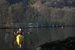 Helen on Lake Windermere Image