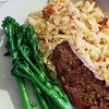 Dinner. Minute steak, tender stem broccoli, and rösti. :ok_woman: