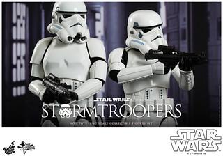 Hot Toys – MMS268 – 星際大戰:四部曲 曙光乍現【白兵雙人組合包】1/6 比例 Star Wars Stormtroopers