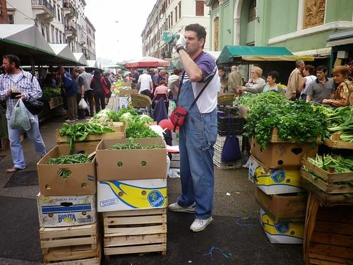 克羅埃西亞的傳統市場。圖片來源:楊宗翰