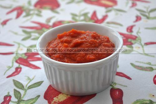 Molho de tomate enriquecido