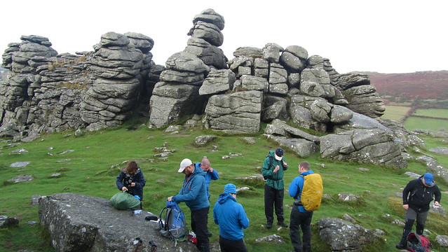 Lunch at Hound Tor
