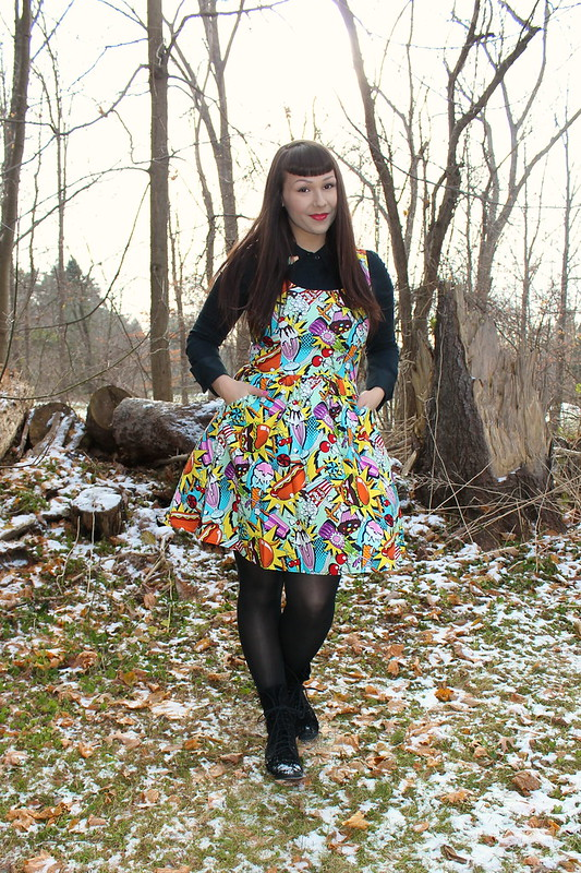 folter clothing junk food dress
