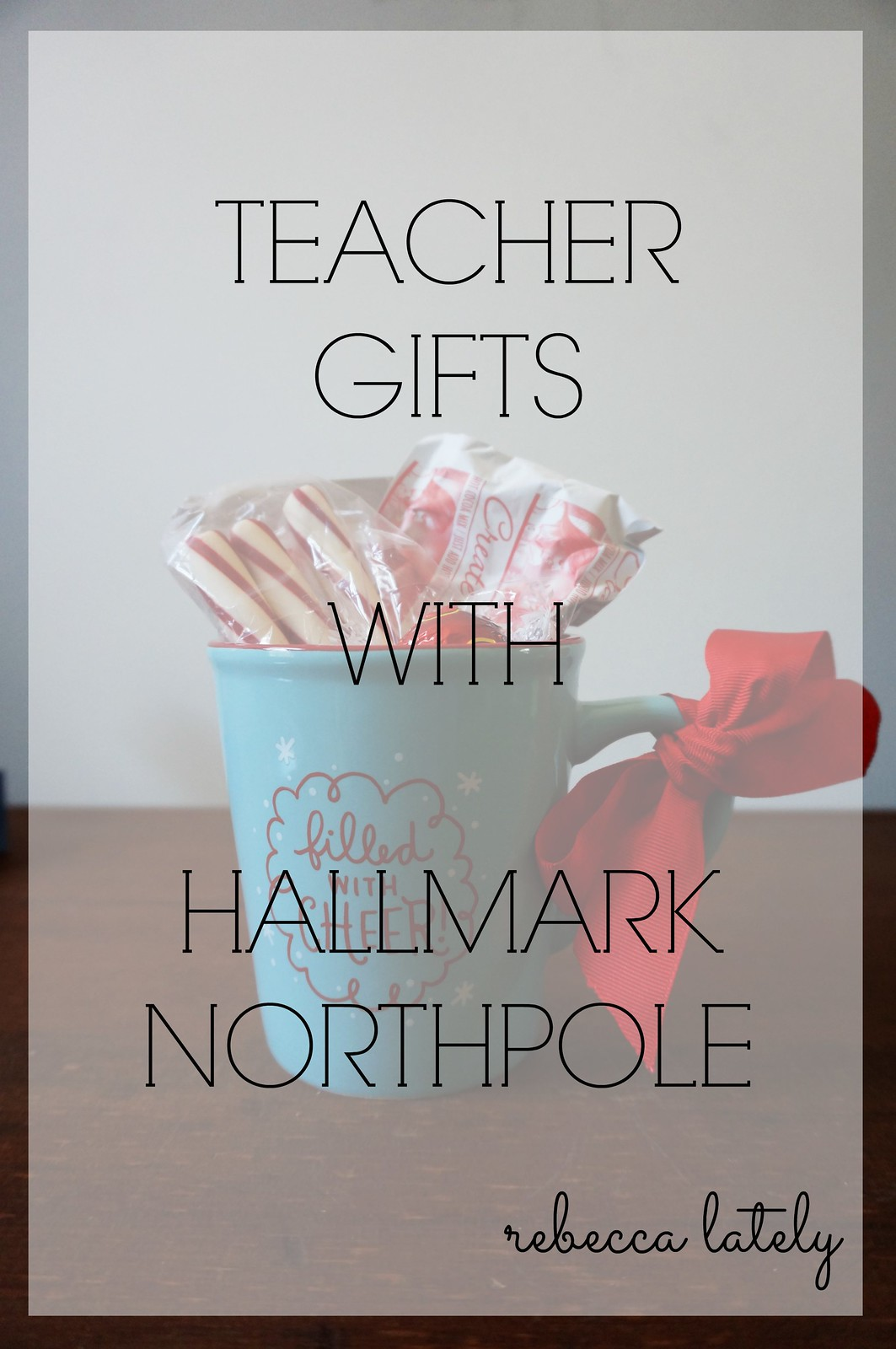 The Perfect Teacher Christmas Gift #NorthpoleFun 2