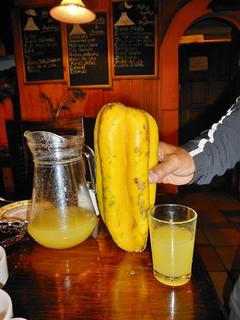 High Altitude Papaya Juice - Fresh Squeezed