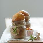 üvegben sült mézeskalács