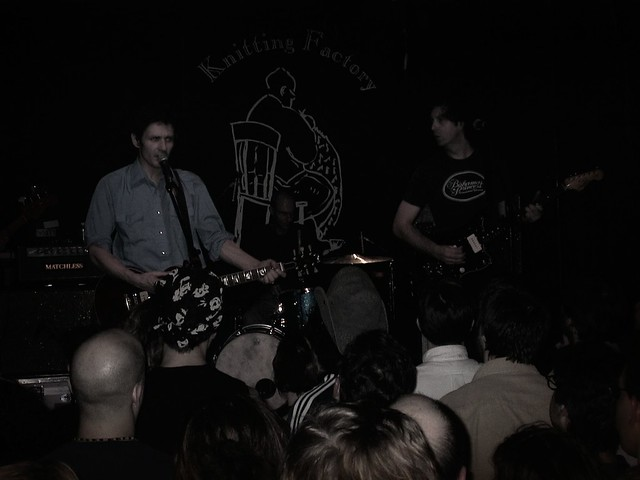 Luna at The Knitting Factory in NYC, February 2001