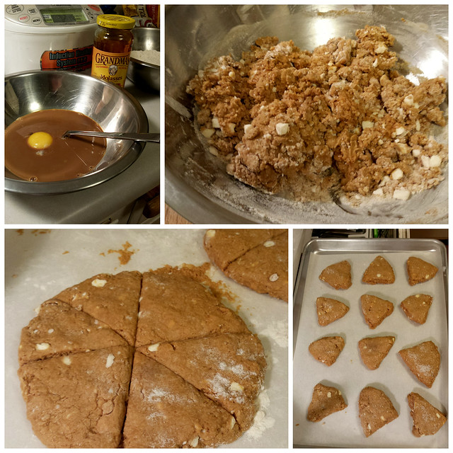 Gingerbread Molasses Scones
