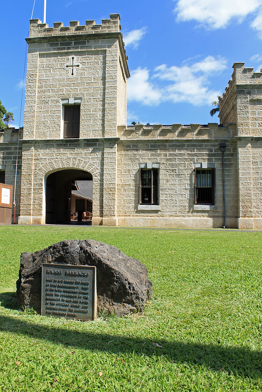 barracks entrance