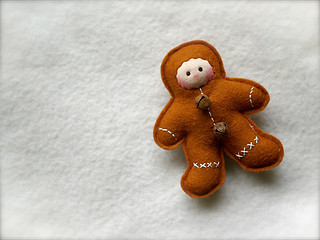 COPPER Gingerbread Man: fair