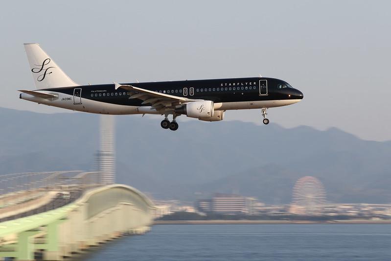 Kansai International Airport 2015.2.14 (9) SFC's A320-200 / JA09MC