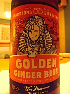 Marstons, Golden Ginger Beer, England