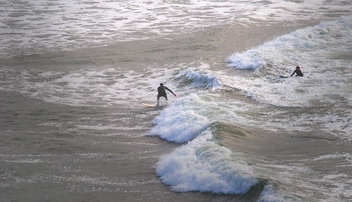 Surfing in the Chilly Water
