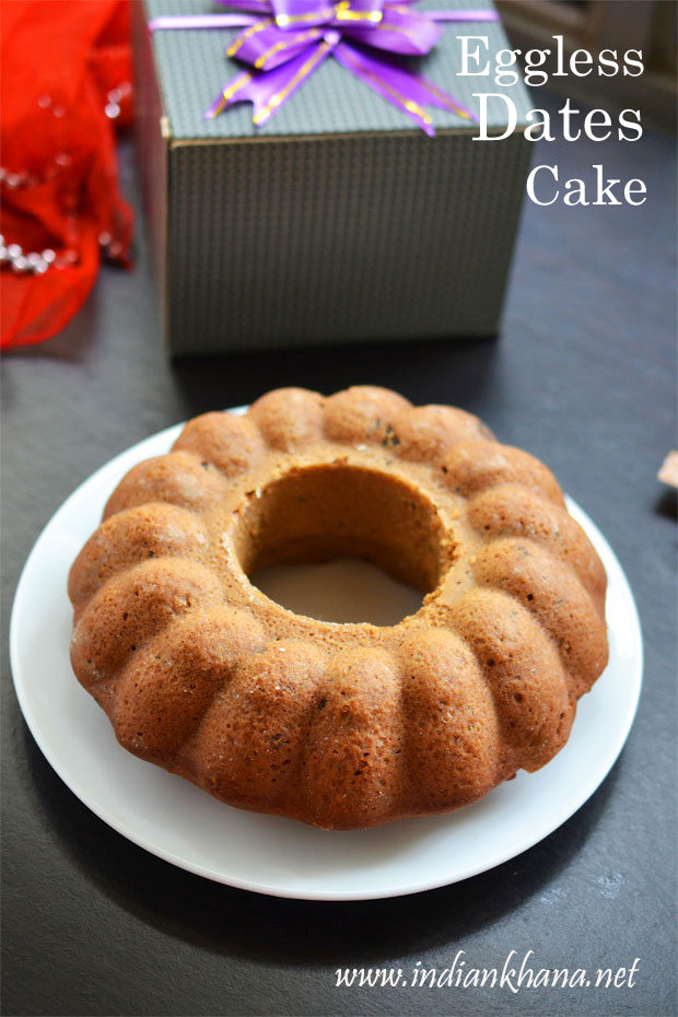 Eggless-Dates-Cake-Recipe