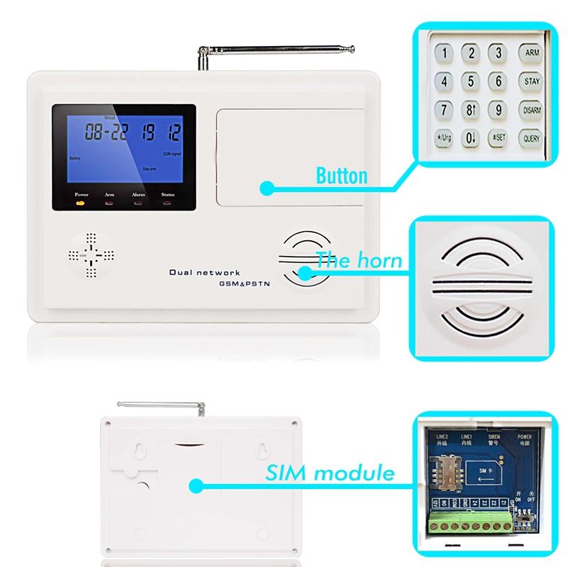 Hệ thống chống trộm thông minh KR-5800G