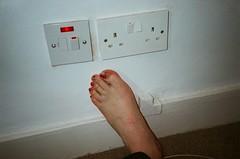 25 / Big toe - Red varnish
