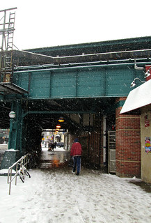 Snow Day under the Subway