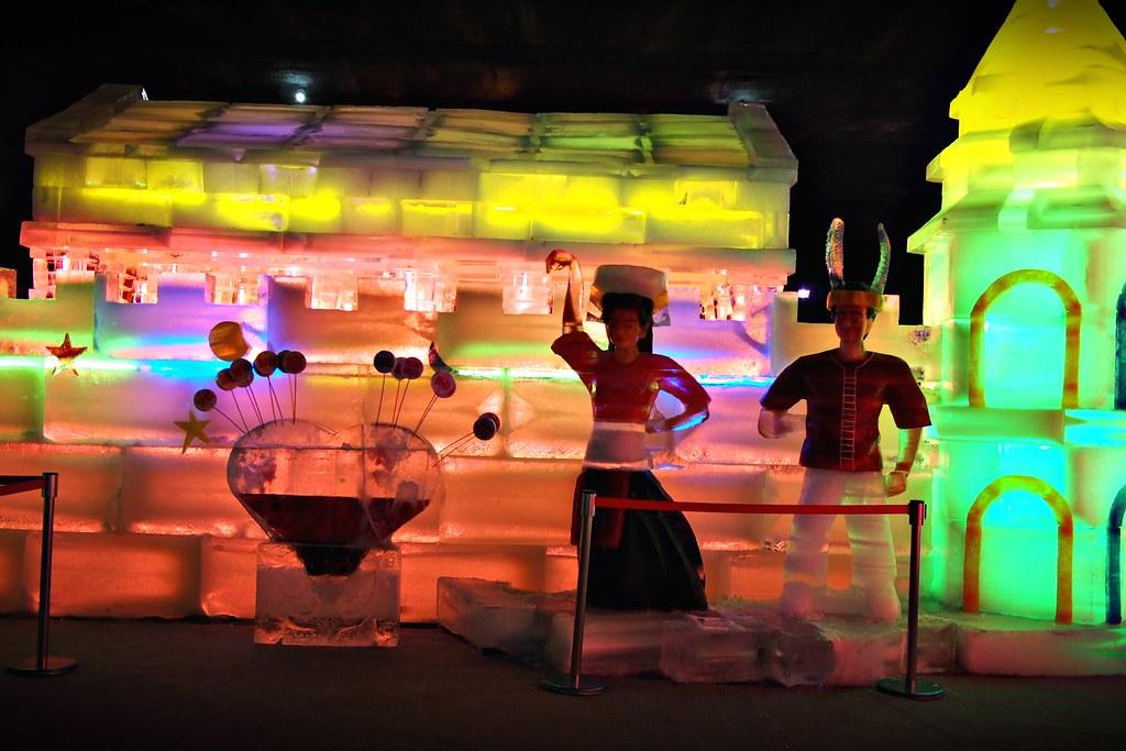 台中高鐵-2015正宗哈爾濱冰冰燈冰雕展-16
