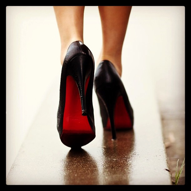 One for the #ladies #shoes #ChristianLouboutin...