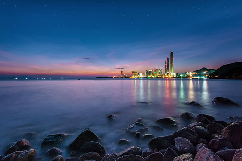 longexposure sunset sea night landscape hongkong nikon ateens d810 starrysky afnikkor14mmf28d flickrhongkong flickrhkma