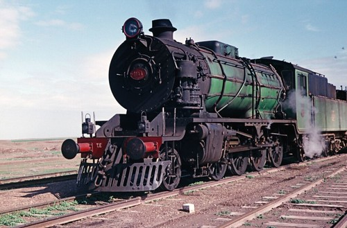 Iraq Railways - Krupp 2-8-0 steam locomotive Nr. 1446 (built 1956)