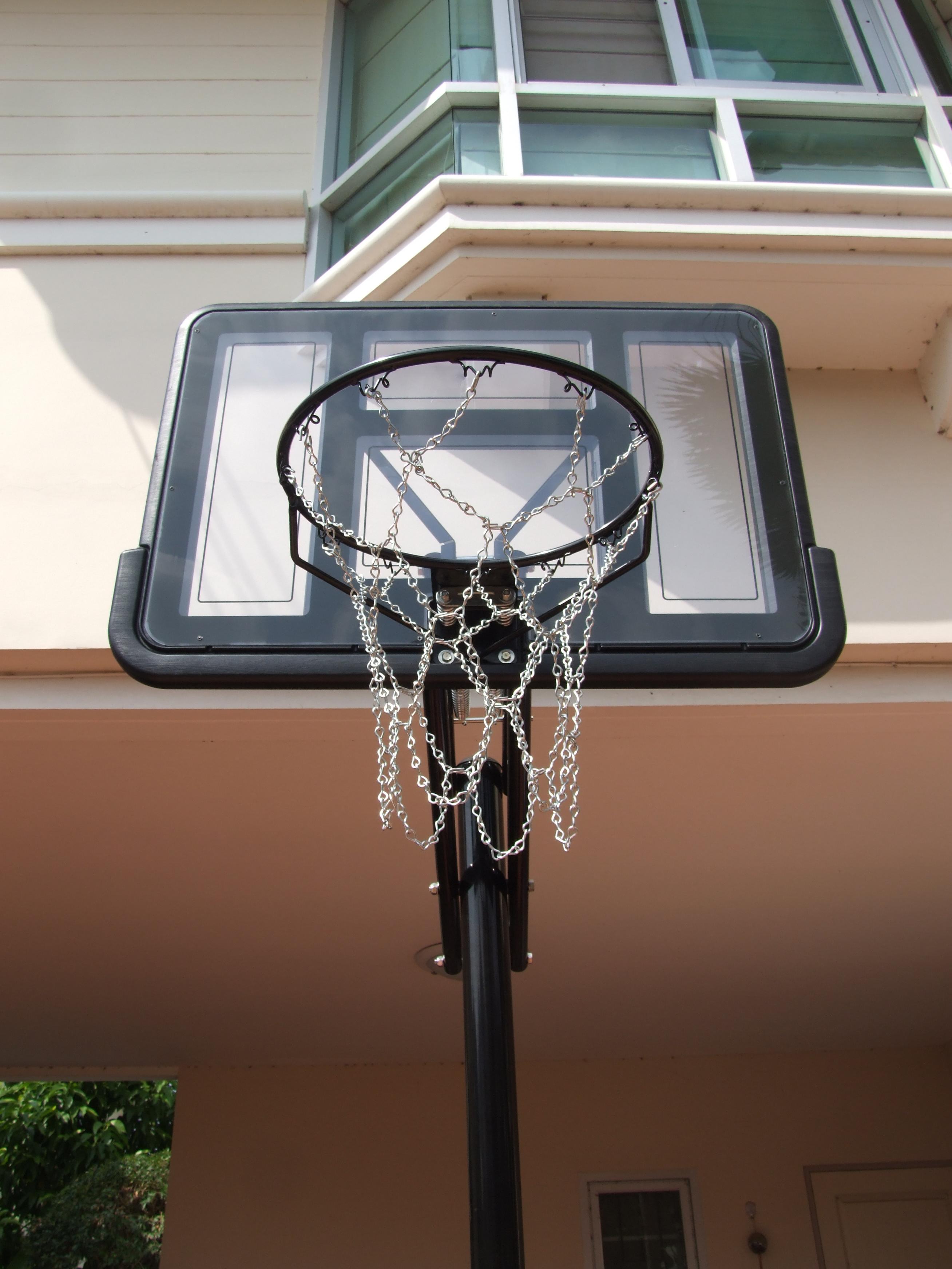 ตาข่ายห่วงบาส hoop net