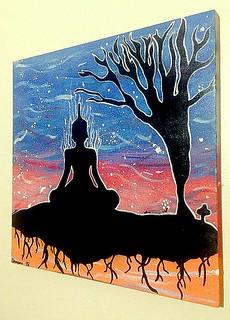 '' Medita, se eleva, relaxa, releva! ''