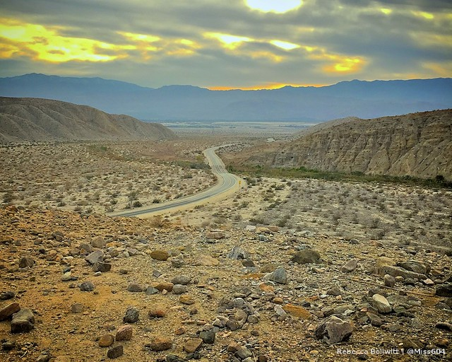 San Andreas Fault at Coachella Valley Preserve