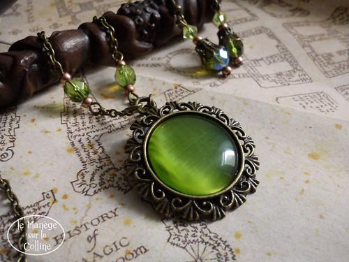 parure verte collier (fb)