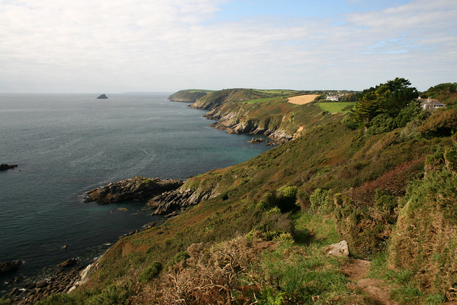 View back to Nare Head