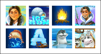 free Ice Run slot game symbols