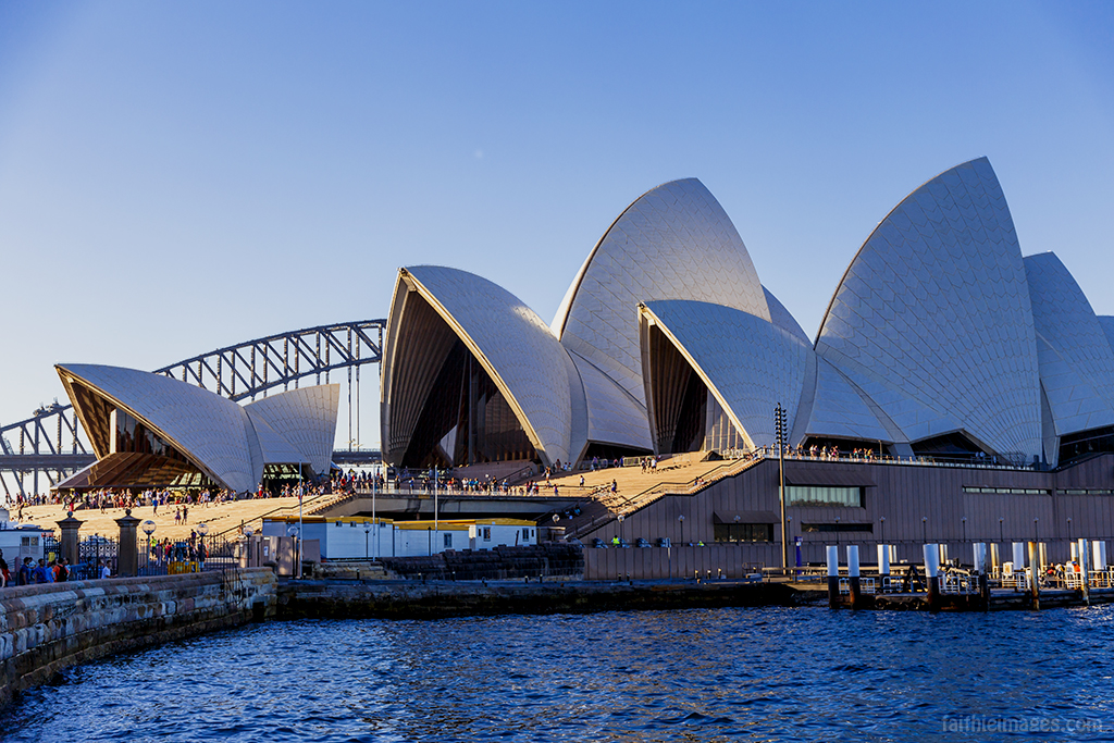 The majestic Sydney Opera House