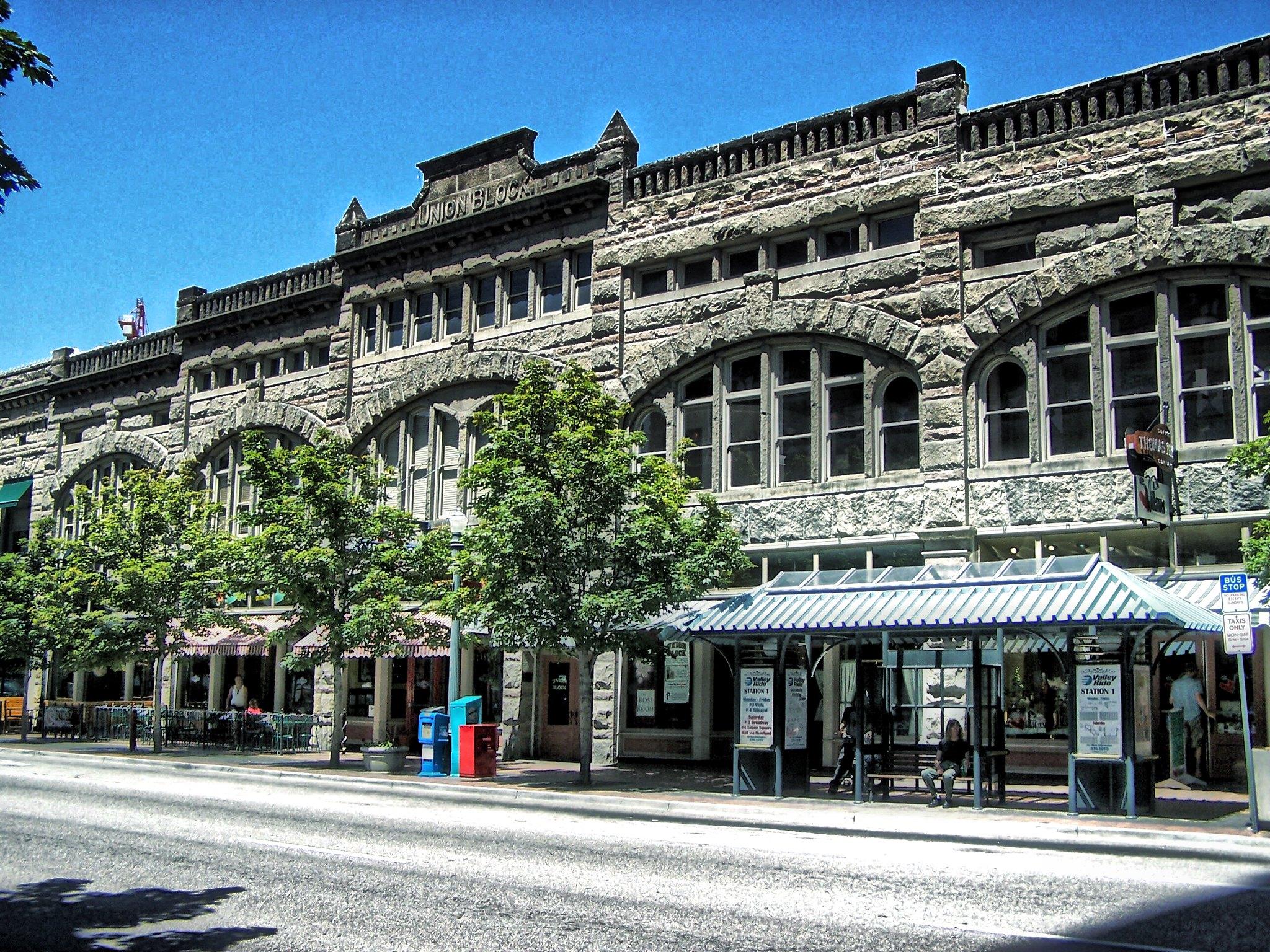 Boise Idaho ~ Union Block Building ~ Historic