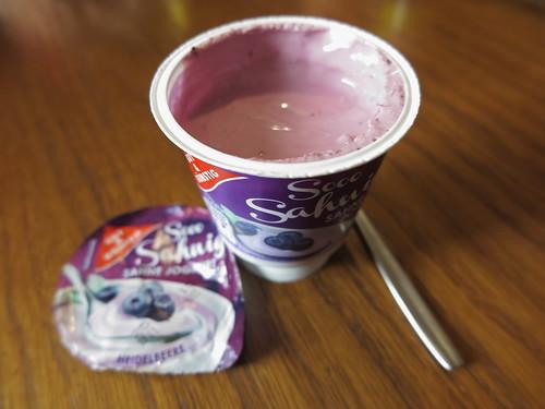 Heidelbeer-Sahnejoghurt