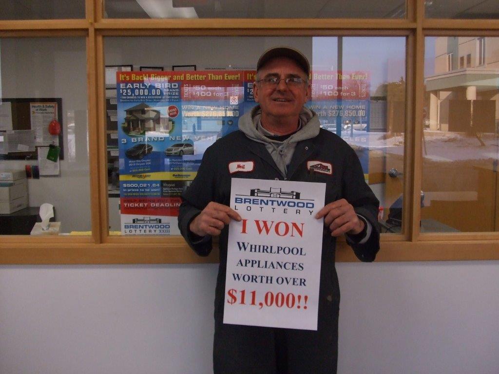 Winner of the Whirlpool Appliance Package