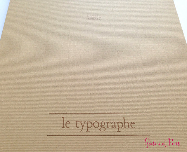 Review Le Typographe Palm Leaf Notepad - A4 Plain @NoteMakerTweets (2)