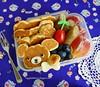 Puppy Pancakes Bento! by sherimiya ♥