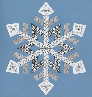 Tangled snowflake
