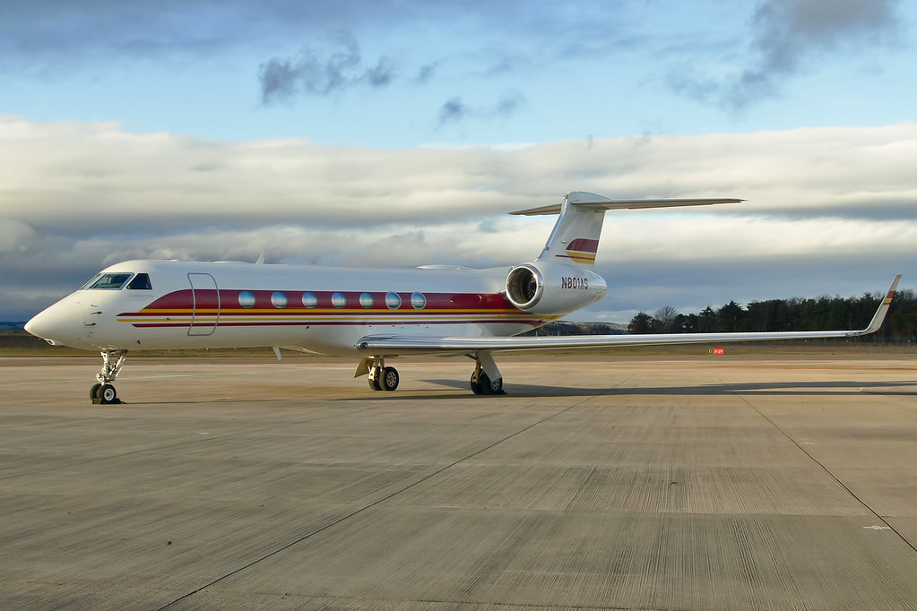 N801AS - GLF5 - National Airlines