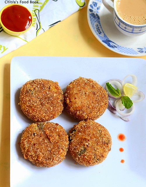 Paneer Cutlet Recipe without potato