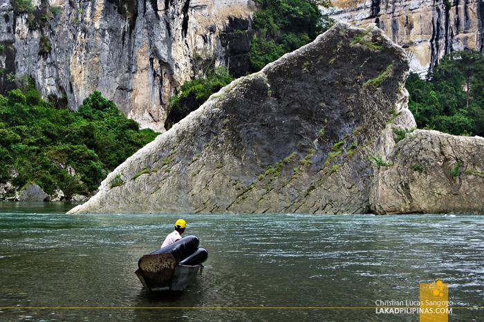 Siitan River in Nagtipunan, Quirino