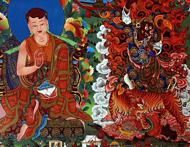 Thangka Painting, Namdroling, Bylakuppe