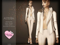 Asteria Creations - Exclusive Mesh Jacket Set for coming soon WITH LOVE FAIR