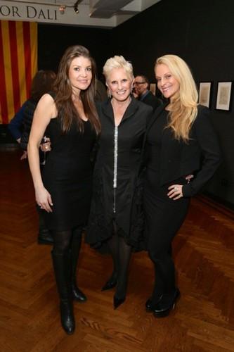 Nicole Noonan, Dianne Bernhard, Consuelo Vanderbilt Costin==.Dali: The Golden Years==.The National Arts Club, NYC==.February 04, 2015==.©Patrick McMullan==.photo - J Grassi/PatrickMcMullan.com==.==