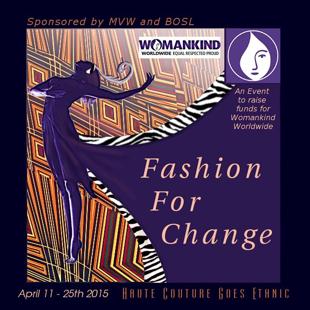 Fashion For Change Event Logo