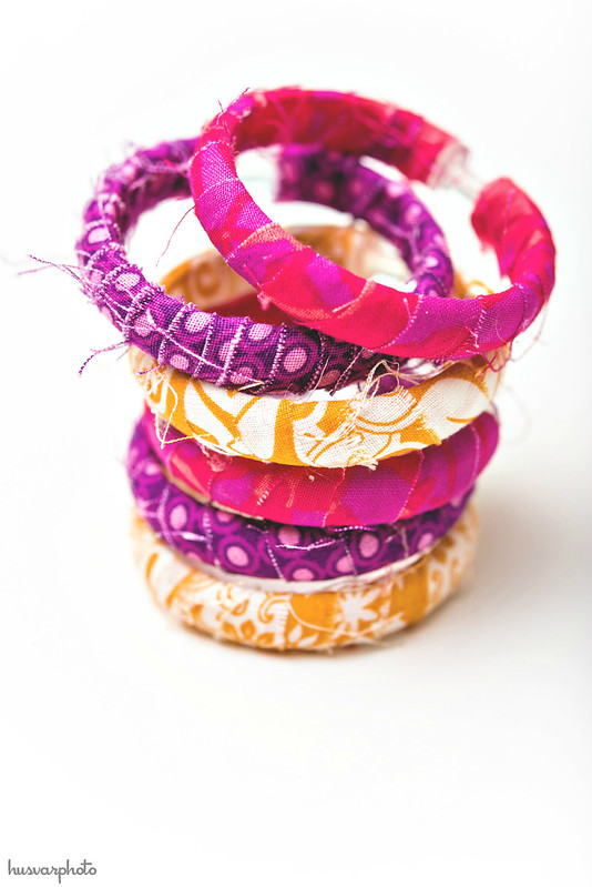 shower curtain ring fabric bracelets #BigHero6Release