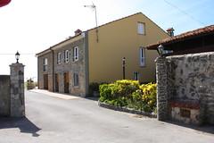 Fachada. Casa de Aldea Folú